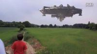 比利时UFO母舰目击