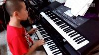 电子琴演奏 我爱你中国