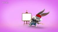 微信搞笑小视频 微信小视频搞笑表白兔子画画