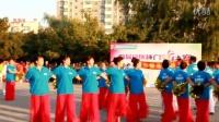 铭医整形举办广场舞在伯都纳广场演出我们获得第一名