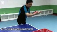 《全民学乒乓发球篇》第1.2集:直拍勾式(手)下旋发球_乒乓球教学视频