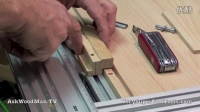 25 Four Drawer Bedside Table • Cutting Sliding Dovetails (Female)