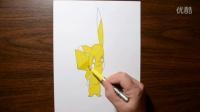 教你画一只3D的皮卡丘