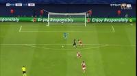 卡瓦尼闪电一击,桑切斯进球救主 吉鲁红牌 阿森纳1-1巴黎