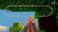 【Minecraft-轨道交通捷运】BlueDream 二周目 绕城轻轨线 琅东西-克拉 东段试运行第一视角POV