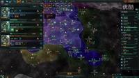 88解说《群星stellaris》植物DLC疯狂难度混居第3期,周边国家关系良好,主星幸福达到100