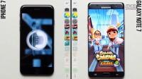 iPhone 7 vs. Galaxy Note 7  速度对比 - 评测视频