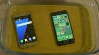 iPhone 7 vs  Galaxy S7 -苏打水测试