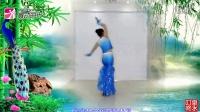 王梅广场舞《水月亮》正面演示舞曲版