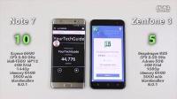 Note 7 vs 华硕 Zenfone 3 - 速度、发热、耗电对比评测!