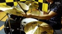 【小生架子鼓】架子鼓SOLO 爵士鼓教程 教材 DRUM FILL 01