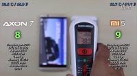 中兴 Axon 7 vs 小米5 - 速度、发热、耗电对比评测!