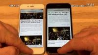 iPhone 6 - iOS 9.3.5 vs iOS 10.1 Beta 1 速度测试 - 性能测试