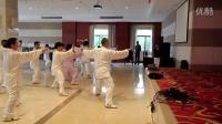 台州李宏明老师演练陈式24式太极拳(侧面)