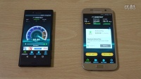 Sony Xperia X Compact vs 三星 Galaxy S7 - 速度对比 - 评测视频!@成近田