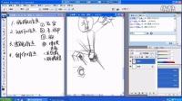 人体绘画过程 如何画人体 名动漫免费教程之《人体的难点》