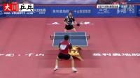 樊振东vs周雨【2016全国乒乓球锦标赛】八一队内战