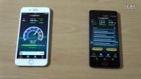 苹果iPhone 7 Plus vs 一加3 - 速度对比 - 相机对比评测视频!@成近田