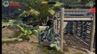 乐高侏罗纪世界 侏罗纪公园第四集 训练迅猛龙战士