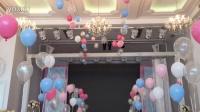 婚礼气球高空悬挂