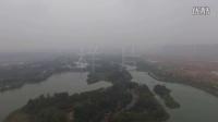 【俯瞰长沙】从白鹭塔上空看洋湖湿地公园360°全景