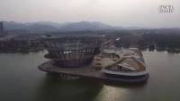 【俯瞰长沙】梅溪湖城市岛:世界最大双螺旋钢结构建筑