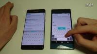 索尼 Xperia XZ vs Galaxy Note 7 速度,相机,性能对比评测!@成近田