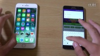 蘋果 iPhone 7 Plus vs 三星 Galaxy Note 5 - 運行速度對比評測!@成近田