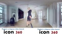 360 VR 全景 虚拟现实 御姐Olga的黑色魅惑