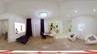 360 VR 全景 虚拟现实 VR girls Natasha无聊在家看电视,你要陪她吗?