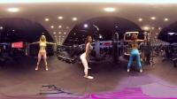 偶遇美女健身房  VR全景视频