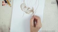 杭州毛戈平化妆学校教你手绘编发发型