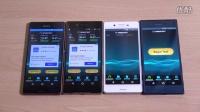索尼 Sony Xperia XZ Vs X Performance Vs  Z5 Vs  Z3 - 网速,Benchmark跑分對比評測!@成近田