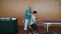 中医李茂发达摩正骨108手演示颈椎曲度调整手法