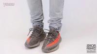 adidas Yeezy Boost 350 V2  Beluga Solar Red 上脚近赏