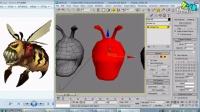 3D游戏建模系列之《第二弹黄蜂怪原画的分析模型》