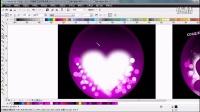 CorelDRAW绘制情缘水晶球
