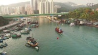 香港鸭脷洲航拍