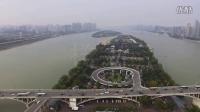 【俯瞰长沙】从橘子洲大桥上空360°看长沙美景