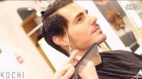男子剪掉长发后帅的不要不要滴