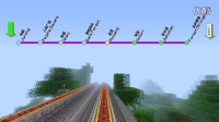 【Minecraft-轨道交通捷运】BlueDream 2周目 末地通线 一期+二期 裕廊-丛林要塞 全程第一视角POV