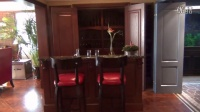 王楠别墅装修设计之---盥洗室、酒窖、影音室、琴房客厅、车库.