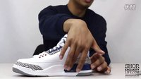 Air Jordan 3 Retro OG 'True Blue' 实物细节近赏