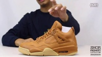 Air Jordan 4 Retro Premium 'Ginger' 实物细节近赏