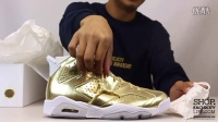 Air Jordan 6  Retro Pinnacle 'Metallic Gold' 实物细节近赏