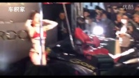 比车更吸引 日本美女车展上的惊艳舞姿