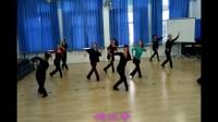 蒙古舞排练  马兰花