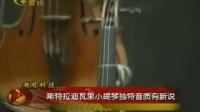 斯特拉迪瓦里小提琴独特音质有新说_标清