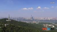 【俯瞰长沙】无人机从岳麓山顶俯瞰长沙全城