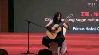 """2016中国沈阳国际吉他艺术节,吉他音乐会""""美丽达之夜"""",伊莉娜·马托斯(西班牙)"""